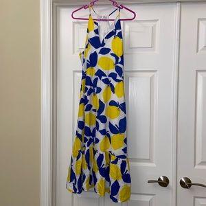 NWT Ann Taylor Loft Lemon Dress